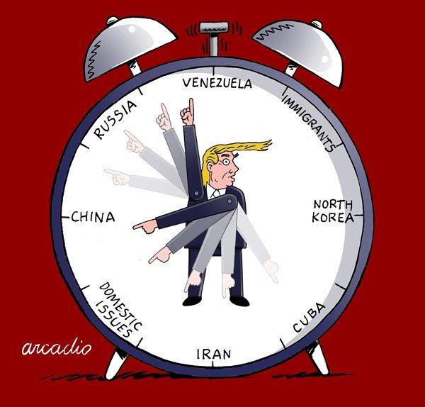 ساعت تحریمنمای ترامپ هم رسید!