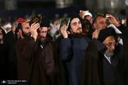 تصاویر | مراسم شب احیای نوزدهم ماه رمضان در حرم امام خمینی(ره) با حضور چهرههای سیاسی