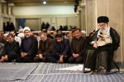 تصاویر | مراسم سوگواری امیرالمومنین(ع) در حضور رهبر انقلاب