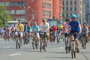 فیلم |  جشنوراه دوچرخهسواری مسکو با ۴۰ هزار شرکت کننده