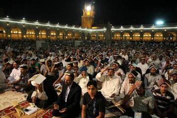 فیلم | حال و هوای مسجد کوفه در سحرگاه نوزده رمضان