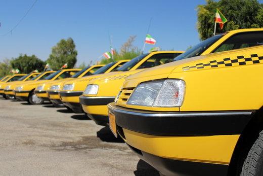 توزیع ۹۵۰ حلقه لاستیک خودروی سبک بین تاکسیداران و وانتداران کرج