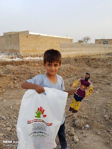 کمکهای مردم لبنان و سوریه به کودکان سیلزده ایرانی