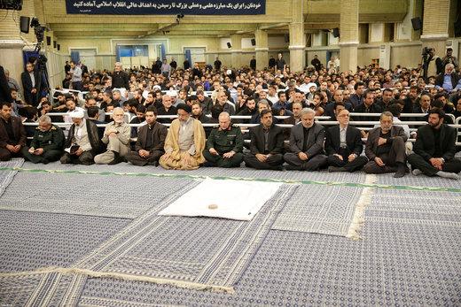 مراسم سوگواری مولای متقیان امام علی(ع) در حضور رهبر معظم انقلاب اسلامی