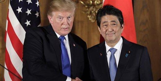 واکنش ترامپ به میانجیگری ژاپن بین تهران و واشنگتن