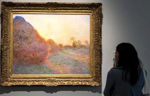 فیلم | لحظه فروش گرانترین نقاشی جهان به قیمت ۱۱۰.۷ میلیون دلار