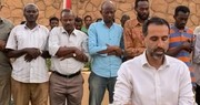 تصاویر|سفیر انگلیس در سودان، هم امام جماعت شد هم افطاری داد
