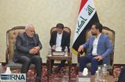 الحلبوسی در دیدار با ظریف از نقش بغداد در کاهش تنش میان ایران و آمریکا خبر داد