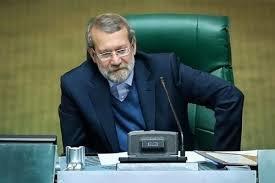 شوخی لاریجانی با حضور محمد دهقان در مجلس/شما به صحن بیایید تا شورای نگهبان سریعتر مصوبات را بررسی کند