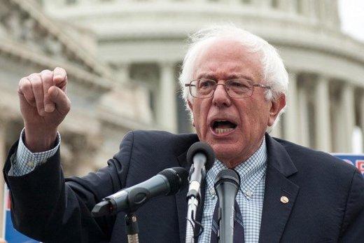 واکنش برنی سندرز به سقوط پهپاد آمریکایی: یک فاجعه مطلق رخ میدهد