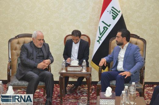 رئيس مجلس النواب العراقي يؤكد تعزيز العلاقات مع إيران