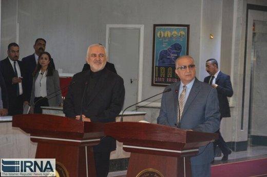 وزير الخارجية العراقي: نقف مع طهران ضد العقوبات