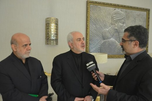 Iran wants peace, prosperity for everybody: FM Zarif
