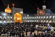 تصاویر | مناجات عاشقان امیرالمومنین در شب احیای بیست و یکم ماه رمضان