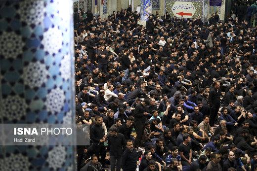 مراسم احیای شب بیست و یکم ماه رمضان در مسجد ارک