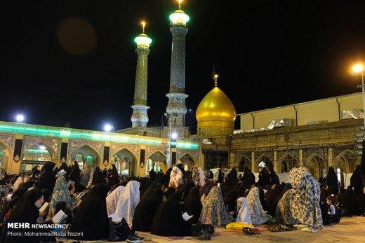 مراسم احیای شب بیست و یکم ماه رمضان در حرم عبدالعظیم حسنی(ع)