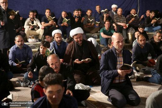 احیای شب بیست و یکم ماه مبارک رمضان در حرم مطهر امام خمینی(ره)