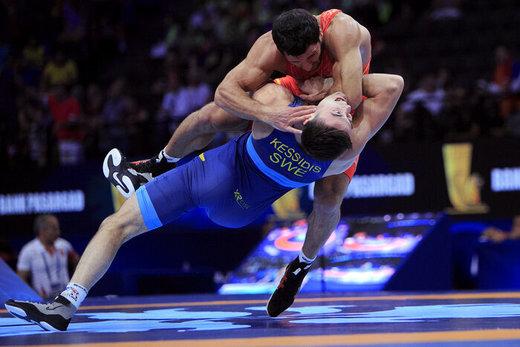 Kermanshah wrestler wins Bronze medal in Italy