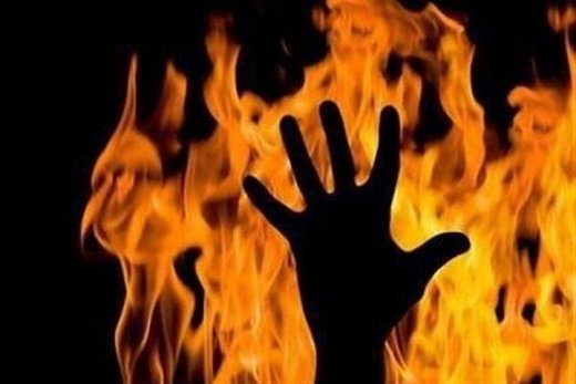 بازار کفش زنانه تهران آتش گرفت