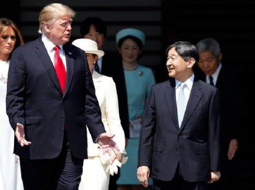 در دیدار ترامپ با امپراطور ژاپن چه گذشت؟