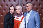عکس | آقا معلم فوتبالیها به همراه همسر و دخترش