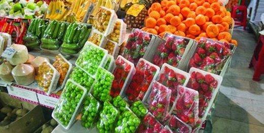قیمتهای رنگارنگ در بازار میوههای تابستانه