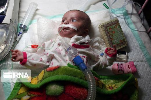 احیای شب بیست و سوم ماه رمضان در بیمارستان کودکان مفید