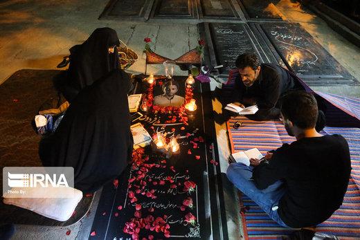 احیاء شب بیست و سوم ماه رمضان در بهشت زهرا (س)