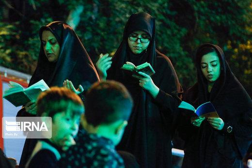 احیاء شب بیست و سوم ماه رمضان در مهدیه تهران
