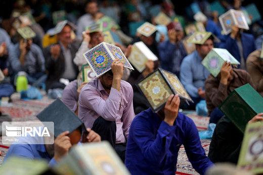 احیاء شب بیست و سوم رمضان در مصلی امام خمینی (ره) بجنورد