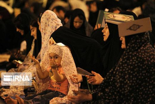 احیاء شب بیست و سوم رمضان در رشت