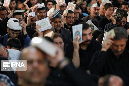 احیاء شب بیست و سوم رمضان در مصلی امام خمینی (ره) اردبیل