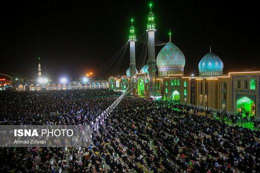 احیاء شب بیست و سوم ماه رمضان در مسجد جمکران