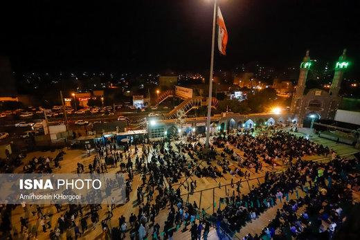 احیاء شب بیست و سوم ماه رمضان در بندرعباس
