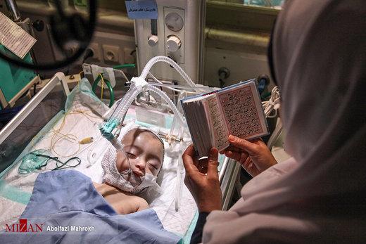 احیای شب بیست و سوم ماه رمضان در بیمارستان خاتمالانبیا