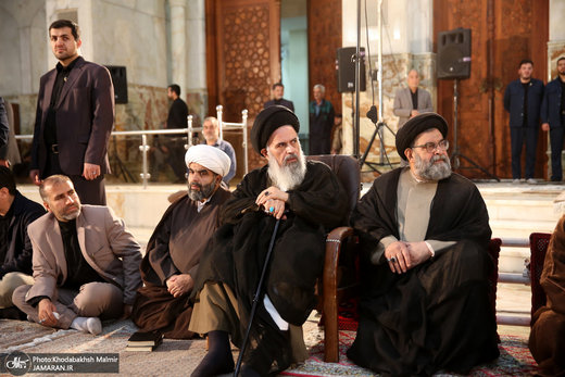 احیای شب بیست و سوم ماه رمضان در حرم مطهر امام خمینی(ره)