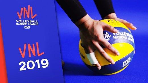 لیست تیم ملی والیبال برای هفته پنجم لیگ ملتها را ببینید