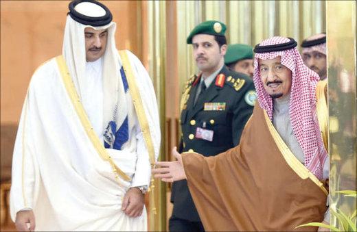 امیرقطر دعوت شاه عربستان نپذیرفت
