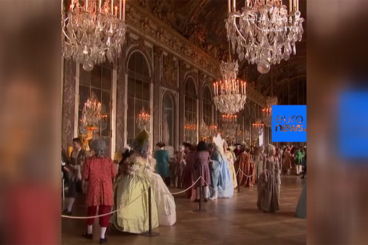 فیلم   ضیافت لباسهای اشرافی در کاخ ورسای برای علاقهمندان زندگی سلطنتی