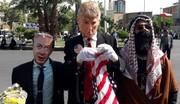 عکس   حضور قاتلین کودکان فلسطینی در راهپیمایی روز قدس