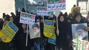 مردم خوزستان با تمام توان فریاد  «مرگ بر اسرائیل» سر دادند