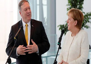 نشست مشترک مرکل و پمپئو در برلین با موضوع ایران