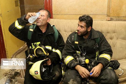آتشسوزی سینما بهمن شیراز
