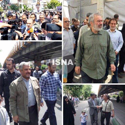 العميد فدوي: الشعب الايراني متواجد في الساحة ما دام الباطل موجودا