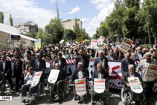 راهپیمایی روز جهانی قدس در اردبیل