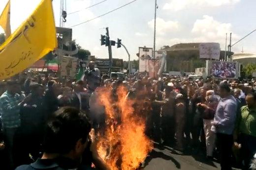 شاهد ..الإيرانيون ينددون بمؤتمر المنامة ومحاولات بيع القدس