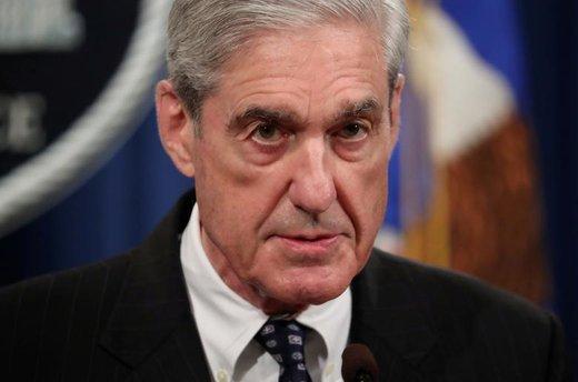 رابرت مولر، بازرس ویژه تحقیقات در پروندۀ دخالت روسیه در انتخابات ریاست جمهوری سال ۲۰۱۶ میلادی آمریکا برای اولین بار بهطور عمومی دربارۀ تحقیقات انجام شده در این پرونده در وزارت دادگستری آمریکا گزارش داد
