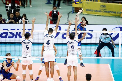 VNL 2019: Iran Sweeps Past Italy