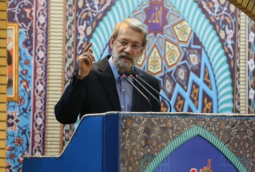 Parl. speaker Larijani:'Deal of the Century' has roots in US utilitarianism