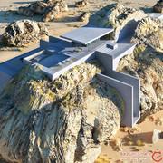 سعودیها میزبان مدرنترین و عجیبترین خانهی دنیا شدند! +تصاویر